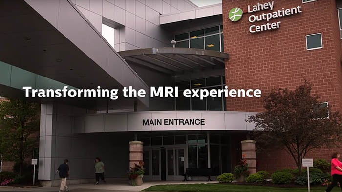 Enhancing the imaging experience for patients with Ambient Experience at Lahey Health, US