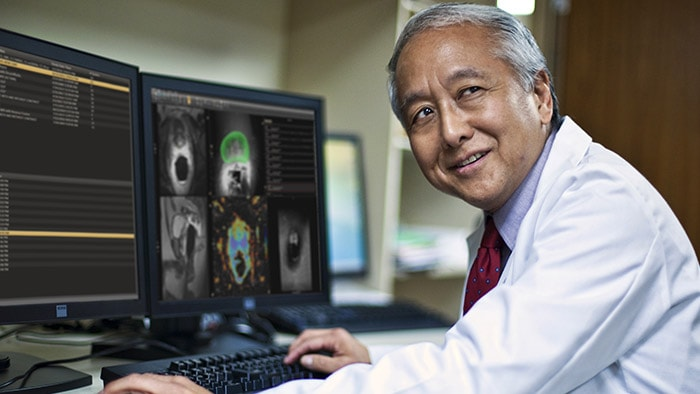 Advanced prostate imaging and biopsy