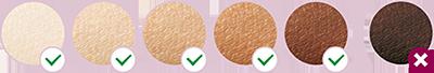 ألوان البشرة الملائمة لجهاز ليزر فيليبس الاصدار العاشر