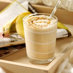 Banana Coffee Caramel Smoothie